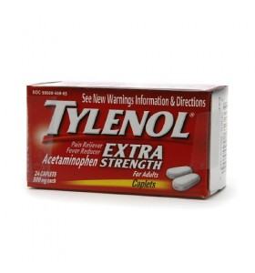 TYLENOL Extra Strength Acetaminophen 500 mg
