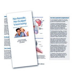 Patient Brochures - No Needle, No Scalpel Vasectomy Counseling