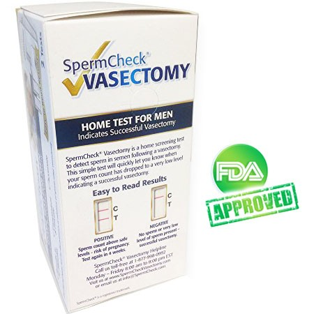 SpermCheck® Vasectomy Home Test
