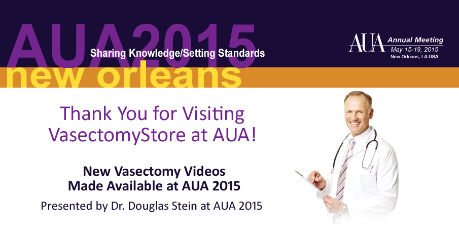 vasectomystore at aua2015
